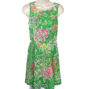 Maeve Anthropologie Laced Verbena Dress Fit  Flare